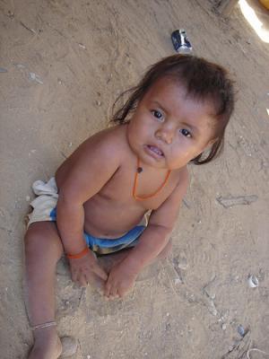 Les enfants en Colombie