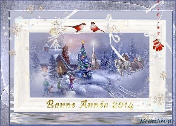 """Mon image """"Bonne année 2014"""""""