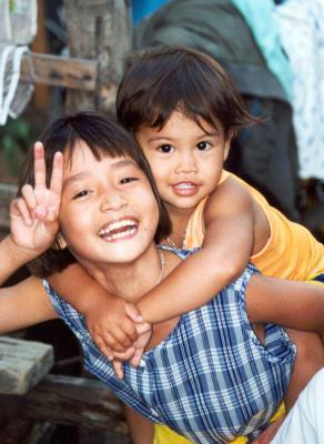 Les enfants en Thaîlande