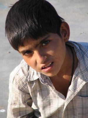Les enfants en Inde